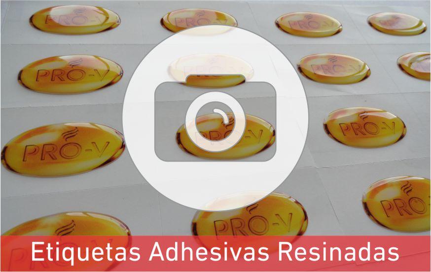 Etiquetas Adhesivas Resinadas